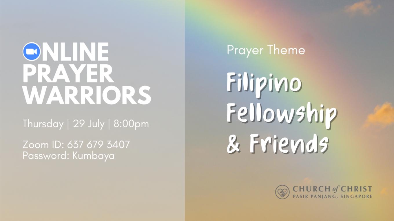 Online Prayer Warriors: FFF